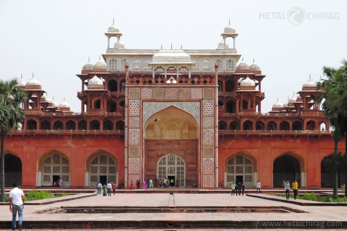 Akbar's-Tomb,-Agra,-India | Chirag Virani | Hetal Virani