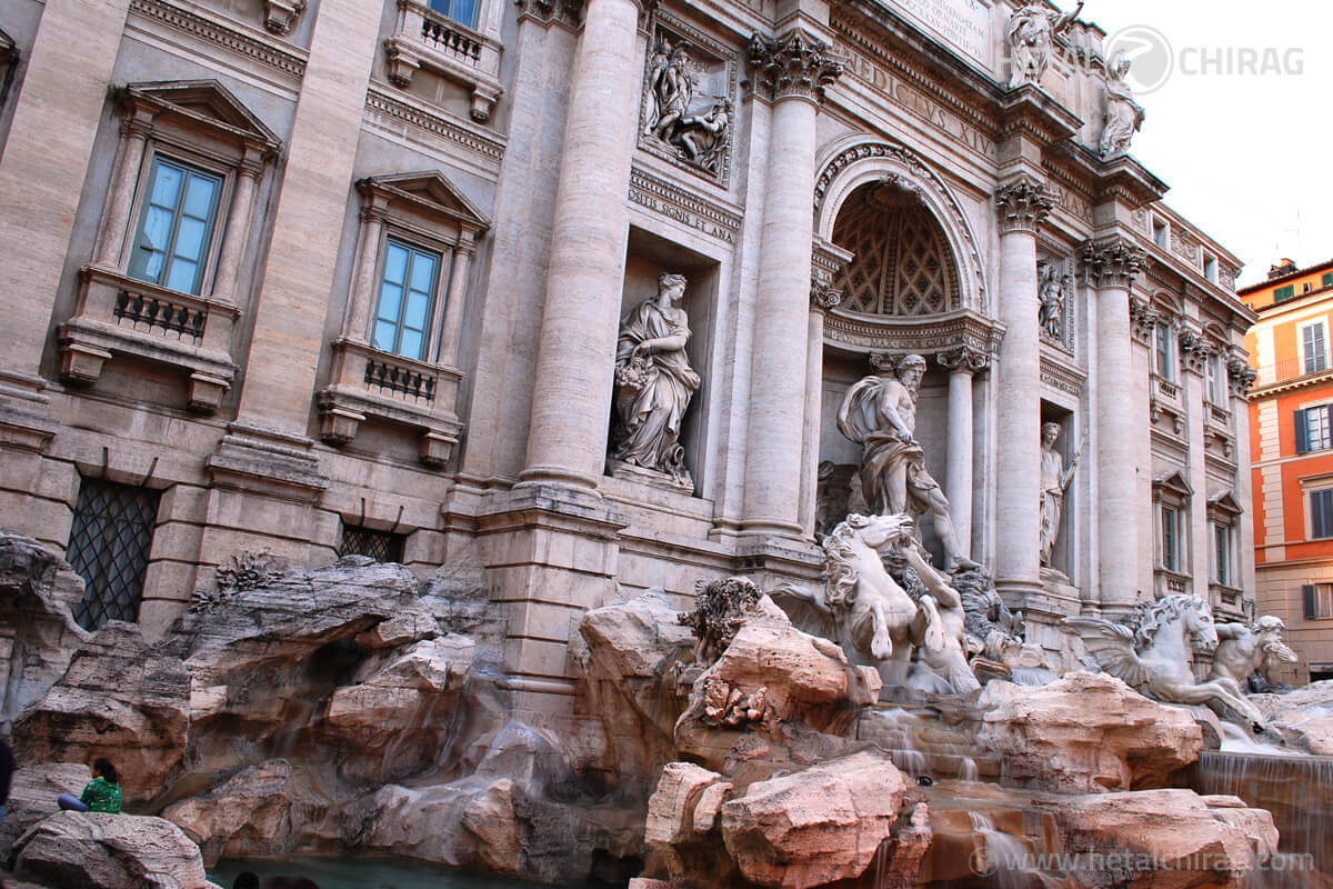 Trevi Fountain – a spectacular fountain at the junction of three ancient roads | Chirag Virani | Hetal Virani