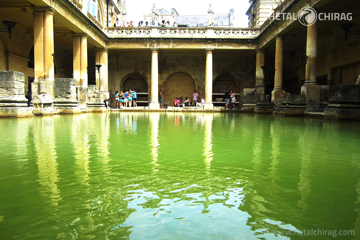 Roman Baths, London, England | Chirag Virani | Hetal Virani