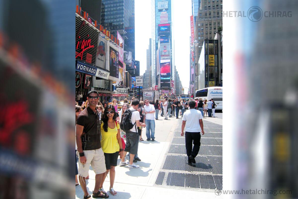 Times-Square,-New-York,-USA | Chirag Virani | Hetal Virani