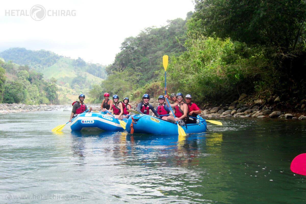 Feel The Rush Of White Water Rafting In Costa Rica Hetal