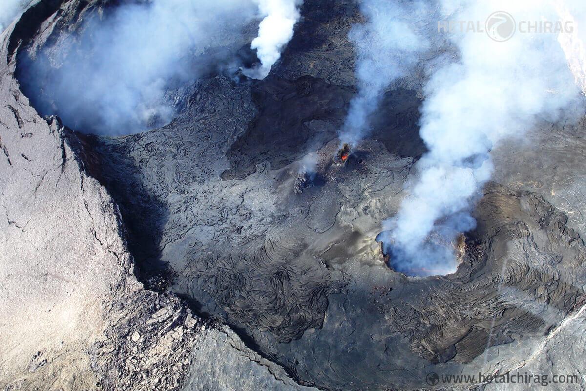 Volcano-Helicopter-Tour,-Big-Island,-Hawaii